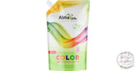 Almawin ÖKO folyékony mosószer koncentrátum - színes ruhákhoz, hársfavirág kivonattal