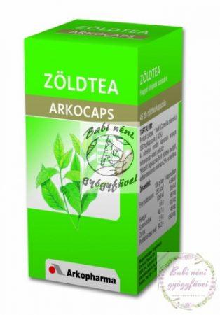 Arkocaps Zöld tea kapszula (45db-os)