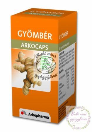 Arkocaps Gyömbér kapszula (45db-os)