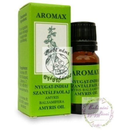 Aromax Szantálfaolaj (nyugat-indiai)(10ml)