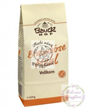 Bauck HOF Bio teljes kiőrlésű barnaköles liszt 425g