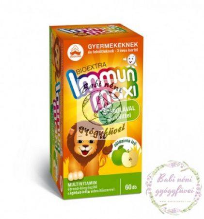 Bioextra Immun Maxi zöldalma ízű rágótabletta 60db