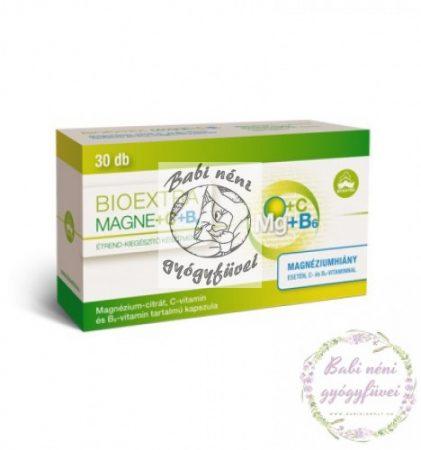Bioextra Magne+C+B6 kapszula 30db
