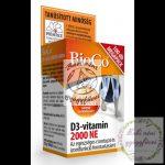 BioCo D3-vitamin 2000 NE Megapack 100db