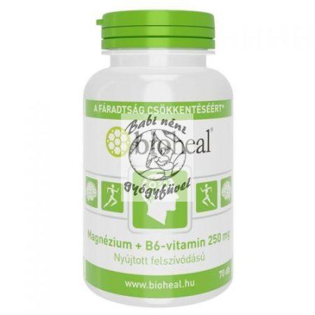 Bioheal Magnézium + B6-vitamin szerves nyújtott felszívódású filmtabletta