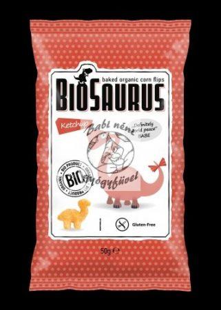 Biosaurus Kukoricas snack, Ketchup