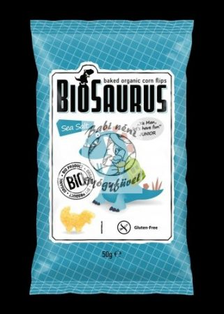 Biosaurus Kukorica snack, Tengeri sós