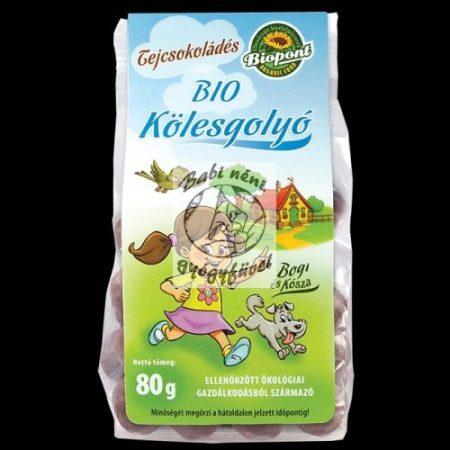 Biopont Bio tejcsokoládés kölesgolyó