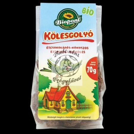Biopont Bio étcsokoládés-kókuszos kölesgolyó