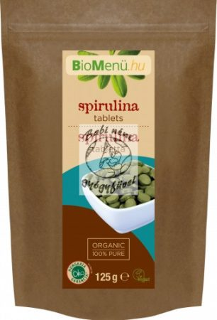 BioMenü BIO SPIRULINA tabletta 125 g