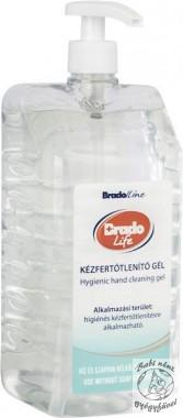 Bradolife kézfertőtlenítő gél 1500 ml