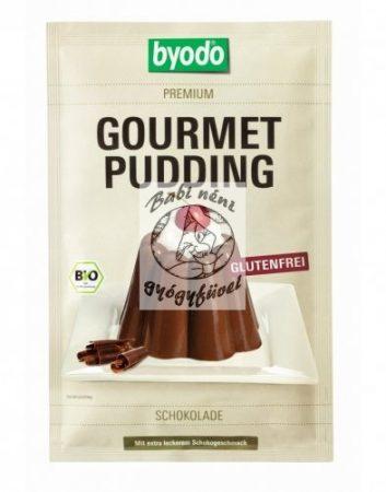 Byodo Bio pudingpor csokoládé 46g