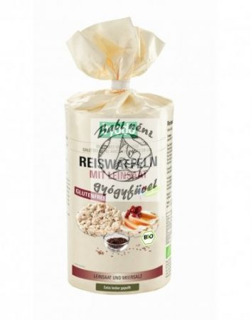 Byodo Bio rizsszelet lenmaggal és tengeri sóval 100g