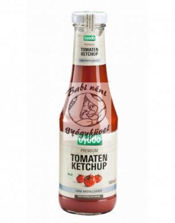 Byodo Bio paradicsom ketchup – kristálycukor mentes 500ml