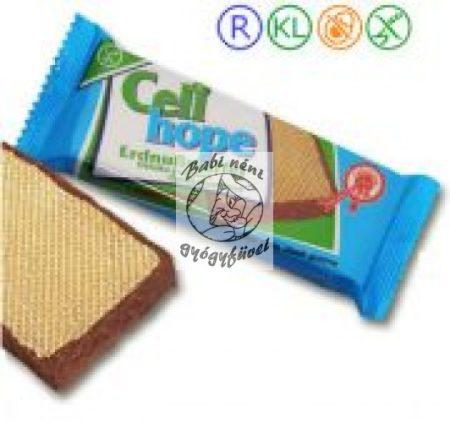 Celi Hope gluténmentes földimogyorós ostya, csokis 35g