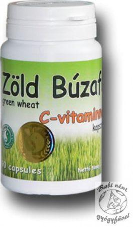 Dr. Chen Zöld búzafű C-vitaminnal kapszula (90 db-os)