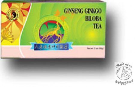 Dr. Chen Ginseng-ginkgo-zöldtea (20db-os)