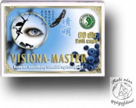 Dr. Chen Visiona Master kapszula (60db-os)