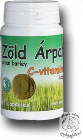 Dr. Chen Zöld Árpafű kapszula C-vitaminnal (90db-os)