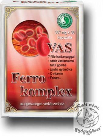 Dr. Chen Ferro Complex kapszula (30db-os)