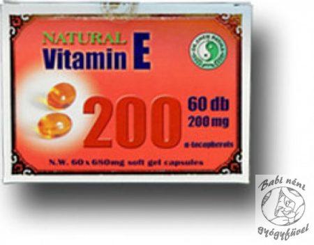 Dr. Chen E-vitamin kapszula (60db-os)