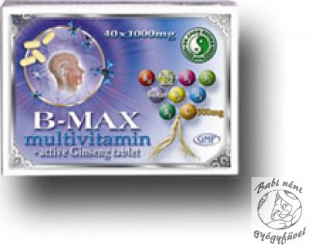 Dr. Chen B-Max multivitamin (40db-os)