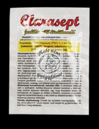Clarasept Fertőtlenítő törlőkendő