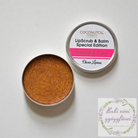 Coconutoil Cosmetics Ajakradír és Ajakápoló balzsam