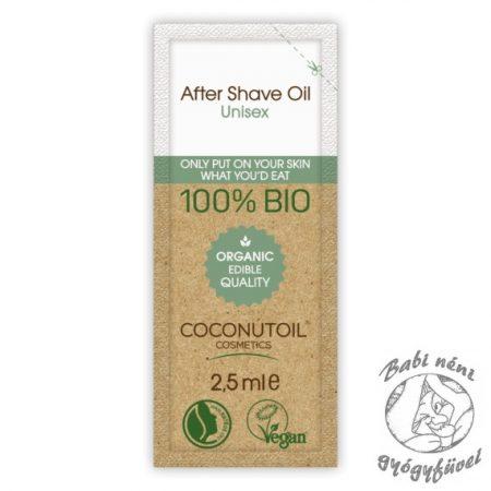 Coconutoil Cosmetics Szőrtelenítés és Borotválkozás utáni Olaj 2,5ml