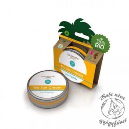Coconutoil Cosmetics Bio Családi Napkrém