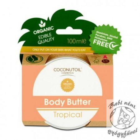 Coconutoil Cosmetics Bio Trópusi Testvaj