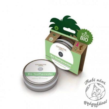 Coconutoil Cosmetics Bio Fogpor Matcha Teával