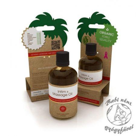 Coconutoil Cosmetics Intim és Masszázs olaj