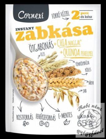 Cornexi ötgabonás Zabkása Chia maggal és Quinoa pehellyel