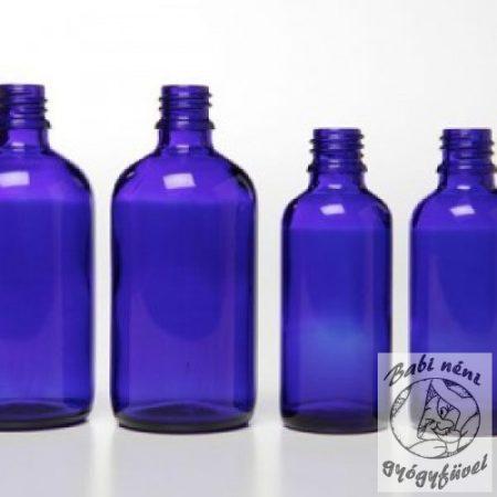 Kék folyadéküveg 50ml