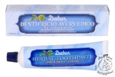 Dabur Gyógynövényes fogkrém bazsalikommal 100 ml