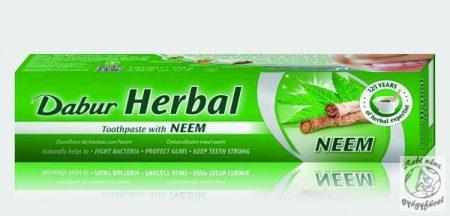 Dabur Gyógynövényes fogkrém Neem kivonattal 100 ml