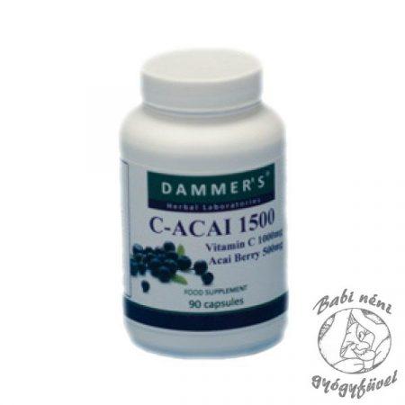 Dammer's C-Acai 1500 (90db-os)