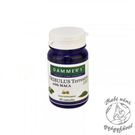 Dammers Tribulus terrestris Királydinnye kapszula 40db