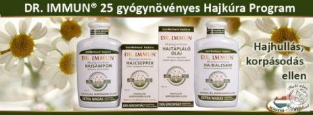 Dr. Immun 25 Gyógynövényes Hajtápláló olaj 100ml