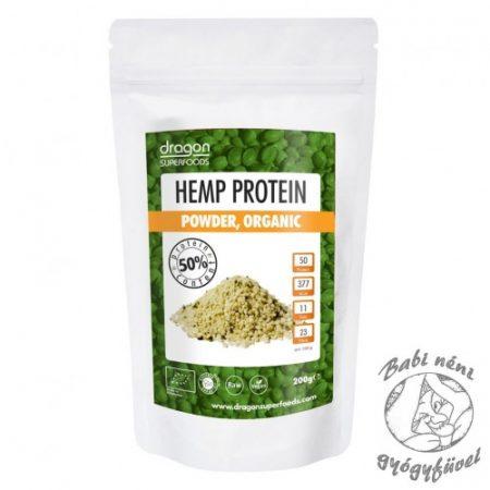 Dragon Superfoods Bio Kendermag fehérjepor, 200 g
