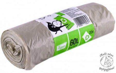 Ecoizm Szemeteszsák újrahasznosított műanyagból 60l 20db