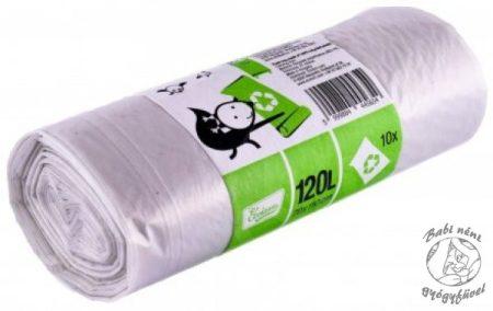 Ecoizm Szemeteszsák újrahasznosított műanyagból 120l 10db