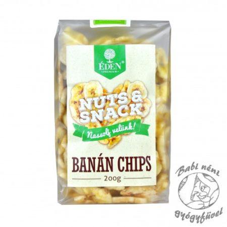 Éden Prémium Nuts&Snack Banánchips 200g