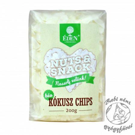 Éden Prémium Nuts&Snack Bio Kókuszchips 200g