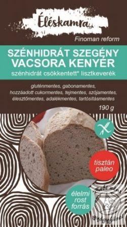 Éléskamra Szénhidrátszegény kenyér lisztkeverék