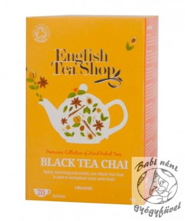 ETS 20 Bio Fekete Chai tea