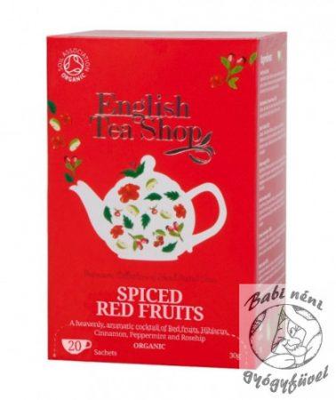 ETS 20 Bio Fűszeres pirosgyümölcs tea