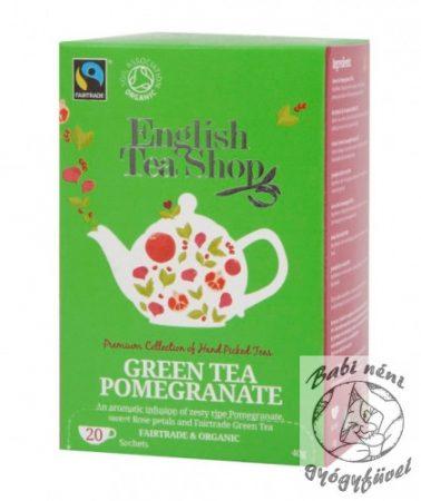 ETS 20 Bio Zöld tea-gránátalmás