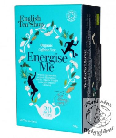 ETS 20 Wellness tea Energise Me